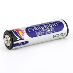 Fast shipping pvc jacket R6P aa size battery