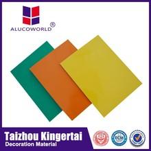 Alucoworld impact assistance 4mm nano aluminum composite panel manufacturer