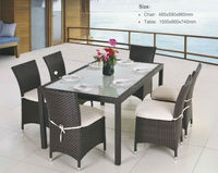 All Weather Wicker High Quality poly rattan garden furniture