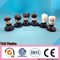 2015 custom plastic pvc mini action figures