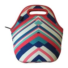 neoprene wine bag/custom made neoprene bag/neoprene lunch bag