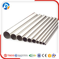 Factory price 304 welded stainless steel pipe weight China manufacturers