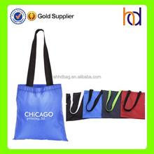 China manufacturer wholesale large reusable nylon shopping tote bag