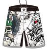crossfit mma shorts with custom