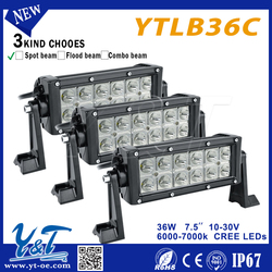 Y&T easy installation utility trailers lamp 36w ip67 LED Light Bar Top quality Led light Bar
