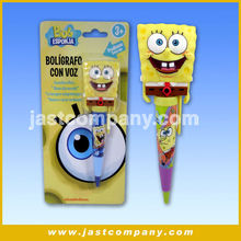 Sponge Bob Plastic Promotion Novelty Pen with music