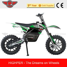 2013 500W Automotive Electric Moto, Electric vehicle motorcycle Dirt Bike for Kids with CE