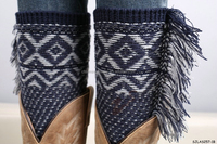 2015 newest fashion style ombre leg warmers
