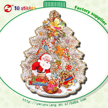 Hotsale handmade paper crafts cheap wholesale ornaments sale felt christmas tree tin decorations made in China