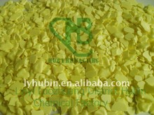 yellow food grade flake sulphur