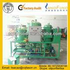 Regeneração de óleo da engrenagem purificação, filtragem de óleo lubrificante / Motor Oil Recycling separador máquina