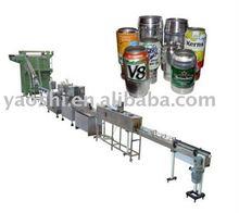 Aluminium POP-TOP Can Filling/Sealing Beverage Production Line,Beverage Machine