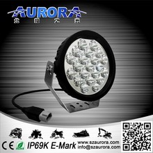 shenzhen factory E-mark certified AURORA 5inch IP68 off road lights