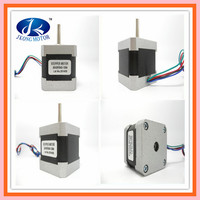 Round shaft stepper motor NEMA17 for 3D printer