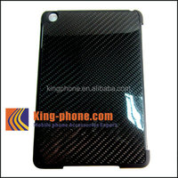 special material black Carbon Fiber Case for ipad mini