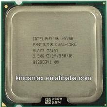 Montado computadora de escritorio procesador intel E5200 CPU E5300