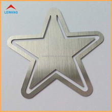 Five-pointed Star Shape Bookmarks, Custom Made Metal Book Clip