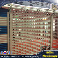 DOSH high quality DH-042ck Garage building Exterior Aluminium Alloy Rolling Shutter, Roll down and Exterior shutter