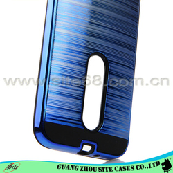Combo Electroplated PC Gel TPU Cover for Moto G3 ,For Moto G3 Mobile Phone Case, For G3 Combo Case
