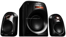 Multimedia good quality JNP-SC1201/V10F 2.1 channel home theater speaker,power amplifier speaker