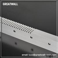 Aluminium Stainless steel worm gear and rack with hard tooth face hobbing