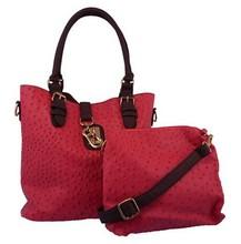 2015 beautiful ladies handbags set handbags cheap cosmetic set beach bag and towel set