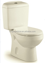 B2510A two piece toilets from Chaozhou manufacturer