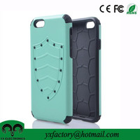 top sellers tpu&pc 2 in 1 detachable cheap mobile phone case for iphon 6 wholesale