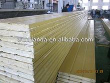 wooden grain steel panel door china manufacture