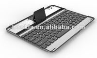 New Style Aluminum Bluetooth Keyboard for The New Ipad with German, Russian, Spanish,Swedish and English