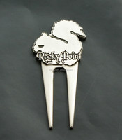 promotional gifts metal custom golf pitch mark