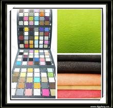 waterproof stain resistence suede leather /synthetic suede leather /dye suede leather