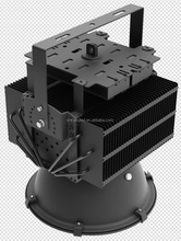 copper pipe radiator with bridgelux chip LED stadium flood light 400W