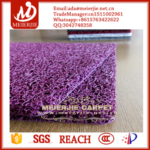 3A Eco-friendly anti fire resistent cushion car mat pvc vinyl coil carpet with strong anti slip firmbacking