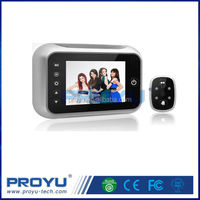 High quality 3.5 Inch LCD 120degree security camera digital door peephole viewer