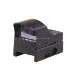 Funpowerland Mini Duckbill Type 25mm Lens Micro Red Green Dot Scope Sight For Weaver Picatinny Mount w/Sunshade