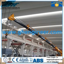hydraulic Crane machine wire rope hoisting mobile crane rail engine crane