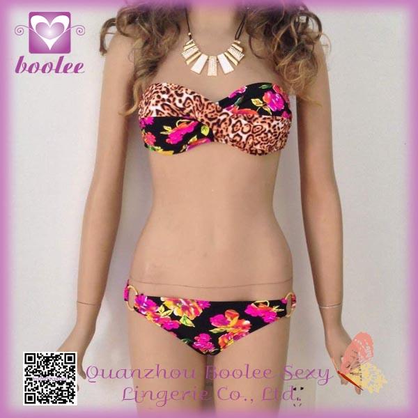 Floral bikinis Imprimir PP4271 Nueva Sexy Trajes de baño de las señoras Bikinis