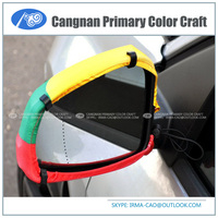 New type national design cover fans product Football fans car wing mirror cover flag