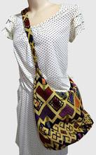 Thai Cotton Elephant Satchel Hippie Sling Cross body Shoulder Bag Thailand