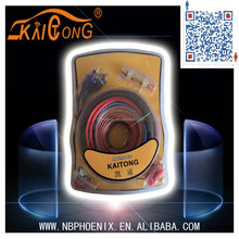 China maufacturer cable 8 GA AMP WIRING KITS