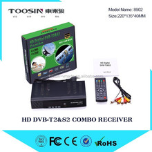 Stocks for 2015 Newest Satellite Receiver Twin Tuner Linux DVB-S/S2+T/T2