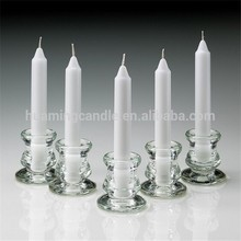 cheap white candles piece for weddings