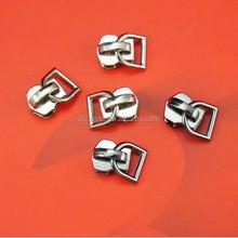 Metal Zipper Slider D Ring Zipper Pull for Garments Bags