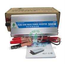 Hot&Decent!! dc12v/24v to ac220v/110v Pure sine wave inverter 500W frequency inverter