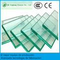 Cristal templado precio m2 de vidrio con CE en stock