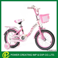 Little princess 2 3 4 5 6 7 8 9 years old pink kids bicycle for sale