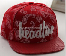Hot new products for 2015 , snapback hats hot sale for girls