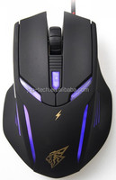 Professional Optical 2400dpi Braided Wired Computer 6d Gaming Mouse