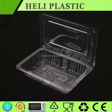 Blister Clamshell plastic PET fresh fruit /vegetable tray factory